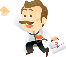 Doctor increase web and social traffic