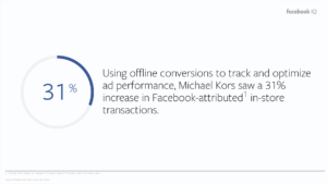 Facebook conversion tracking stats
